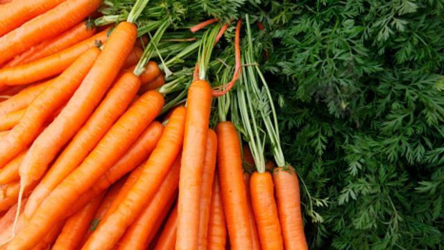 Receta: Zanahorias rápidas y sabrosas