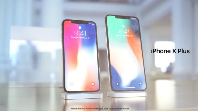El diseño del posible nuevo iPhone X Plus de Apple