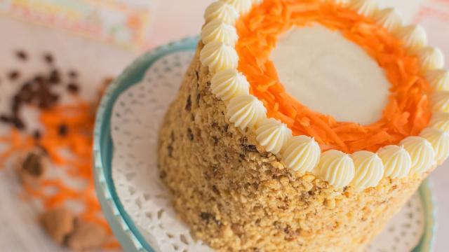 La receta para el imprescindible pastel de zanahoria