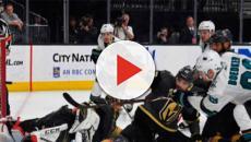 Los Vegas Golden Knights sobreviven al rally tardío de los San Jose Sharks