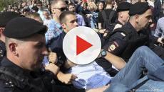 Protesto contra Vladimir Putin termina com mais de 1.500 presos na Rússia