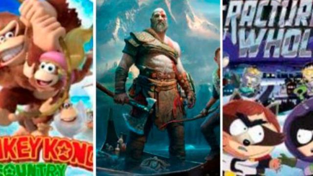 Reseña videojuegos God of War y Donkey Kong Country: Tropical Freeze