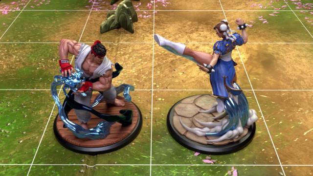 'El juego kickstarter de Street Fighter: The Miniatures' consigue ser financiado