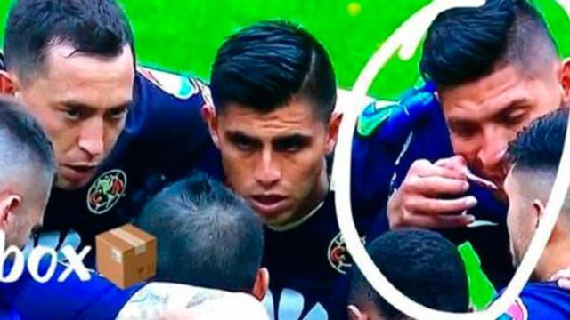 Revelan la sustancia que inhaló Edson Álvarez antes del partido contra Pumas
