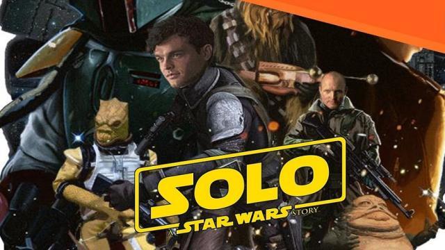'Solo: A Star Wars Story' Nuevo clip muestra más de lo que es posible en el cine