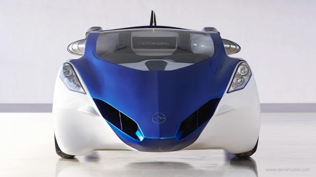 Prototipo de coche volador debe ser lanzado hasta el final de este año