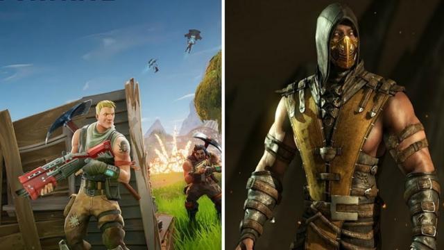 Fortnite, ya está listo para agregar estos nuevos trajes de Mortal Kombat