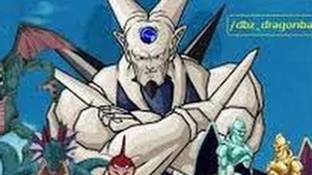 Los Dragones Malignos del anime de Dragon Ball
