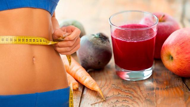 As vantagens do suco de maça, cenoura e beterraba