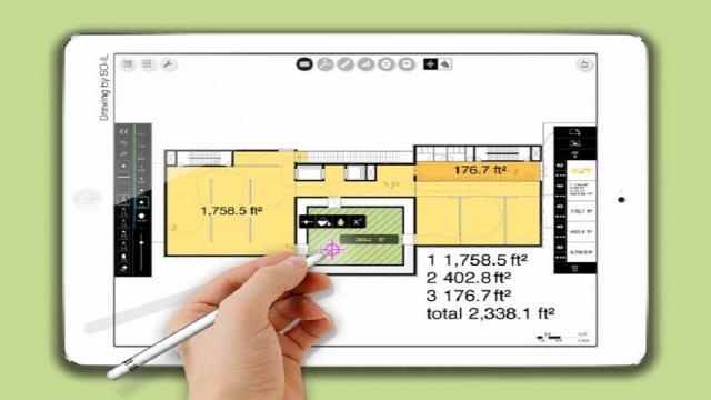 La herramienta SmartFill de Morpholio ayuda que diseñadores sean más precisos