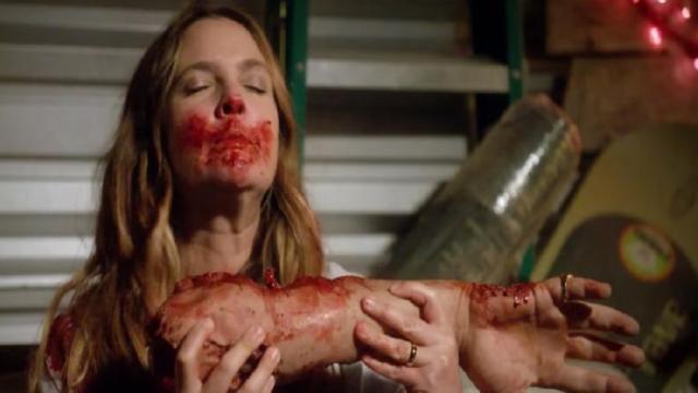 'Santa Clarita Diet' En la tercera temporada Drew obtiene más carne humana