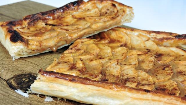 La receta del clásico pastel de manzana