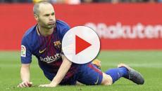 VIDEO: Iniesta quiere jugar en China pero le dijeron no