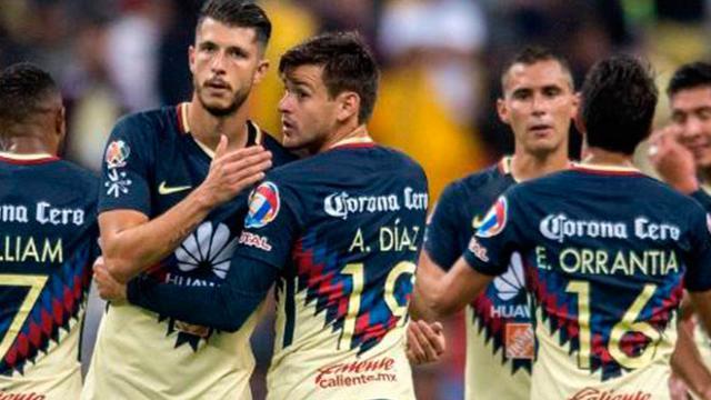 La alineación del América para la ida contra Santos Laguna