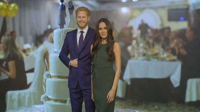 Prince Harry and Meghan Markle become realistic wax models