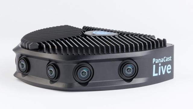 PanaCast Live ofrece video inmersivo de 4K de 180 grados