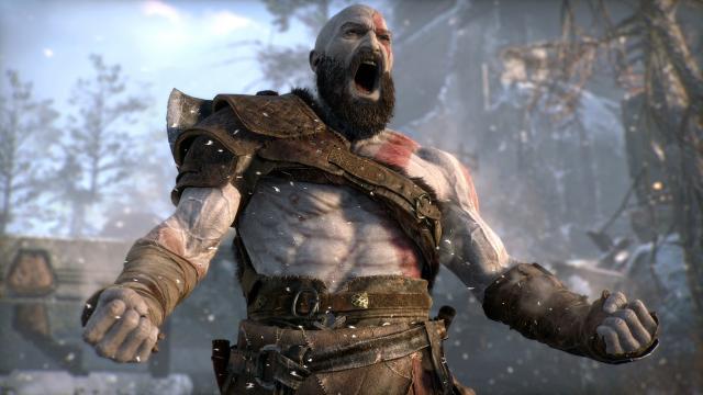 God of War permanece en la cima de las listas de juegos del Reino Unido