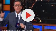 'The Late Show' saw Stephen Colbert mock Trump over the Cohen scandal