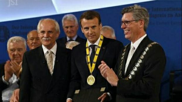 Emmanuel Macron appelle l'Europe à se mettre en marche