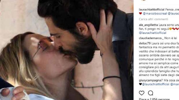 Marco Bocci sta meglio, il commovente post con la moglie Laura Chiatti