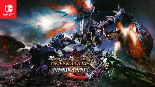 Monster Hunter Generations Ultimate disponible en Nintendo Switch