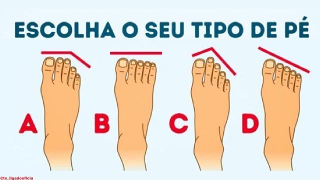 Como são os seus pés? Descubra o que o formato deles revela para você