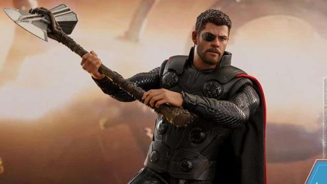 La realidad no dicha del nuevo martillo 'Stormbreaker' de Thor en Infinity War