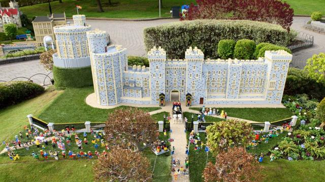 Prince Harry and Meghan Markle's wedding immortalized at Legoland Windsor