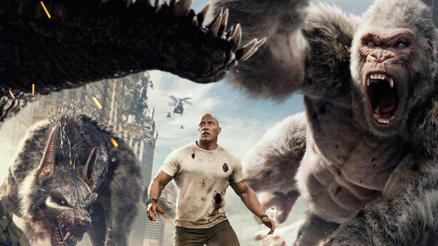 Rampage - Big meets Bigger: Lo principal es destruir todo.
