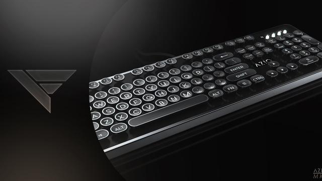 Tres teclados mecánicos de diferentes partes de Asia