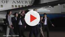 Alec Baldwin questions Trump over North Korea releasing soldiers