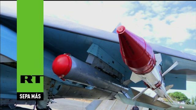 Aviones de combate con misiles de largo alcance