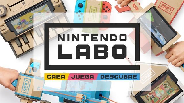 Nintendo Labo: Diversión de cartón para toda la familia
