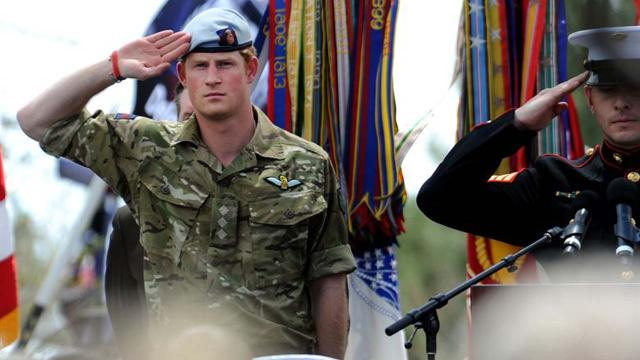 Prince Harry's military friends are nervous about their royal wedding duties