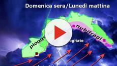 Meteo: DOMENICA arriva il Ciclone Nord-Atlantico