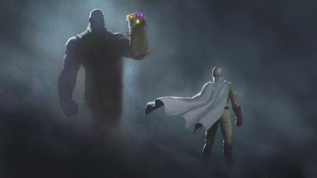 ¿Quién ganaría entre Saitama vs Thanos?