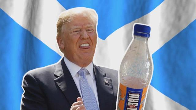 Donald Trump 'declares war' on Scotland by banning Irn-Bru from his golf resort