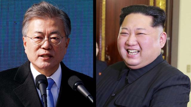 Los líderes de Corea del Norte y del Sur impresionan al mundo