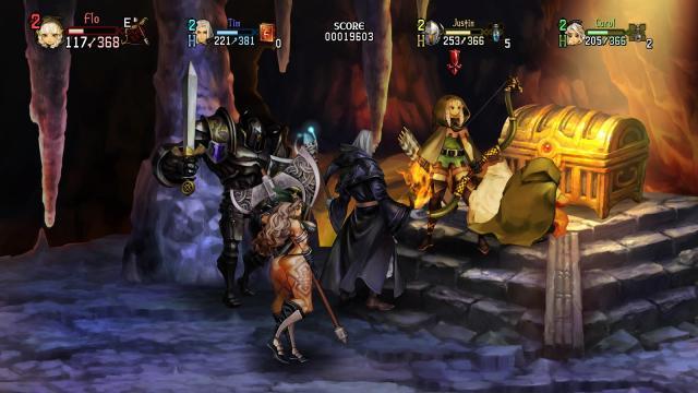 Dragones Crown Pro: De vuelta en cuevas y mazmorras