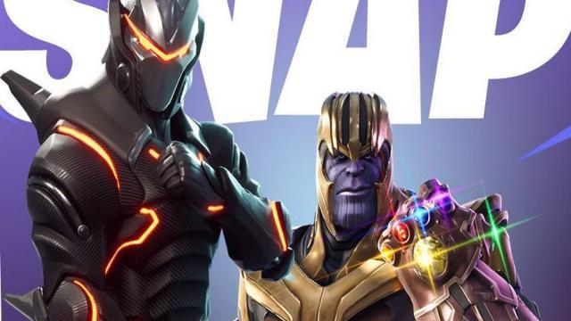 Fortnite - 50vs50 modo está de vuelta y ahora con Thanos