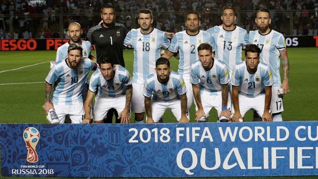 Equipo provisional de Argentina para la Copa Mundial de la FIFA 2018