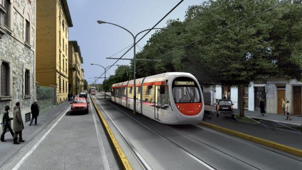 Tramvia Firenze, ultimata la nuova linea: arriverà fino a piazza San Marco