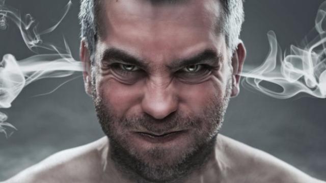 ¿Tiene problemas de ira? Perder la calma puede dañar su salud
