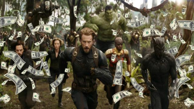 'Avengers: Infinity War' obtiene otro gran lunes en la taquilla internacional