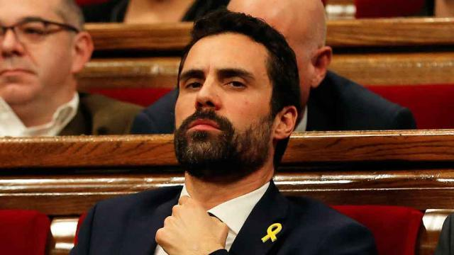 Roger Torrent planta a Felipe VI