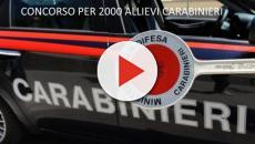 Concorso Allievi Carabinieri: 2000 posti anche per civili e minori
