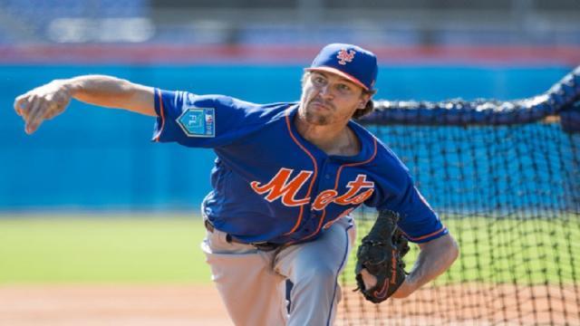 Los Mets cuidan más a Jacob deGrom que a Yoenis Céspedes