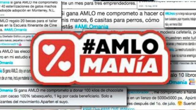 La Amlomanía aumenta cada vez más en México