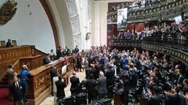 VIDEO:Violencia en la asamblea Nacional de Venezuela 15 de mayo 2018