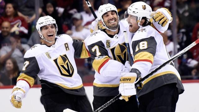 Vegas empata la serie contra Winnipeg, con gran forecheck y goles oportunos